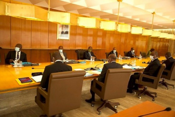 Côte d'Ivoire : Communiqué du conseil des Ministres du mercredi 27 Mai 2020