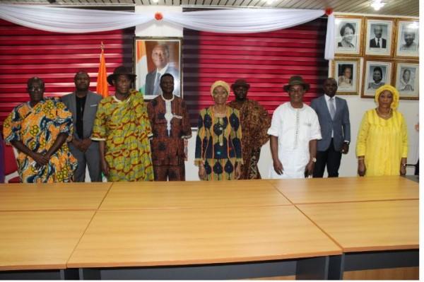 Côte d'Ivoire : Le village Ebrié d'Elokato  témoigne sa reconnaissance à Ouattara et Gon
