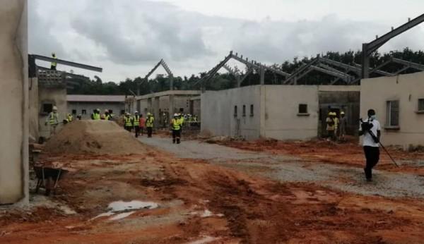 Côte d'Ivoire : Infrastructures sanitaires, le nouveau CHR d'Aboisso livré en septembre prochain