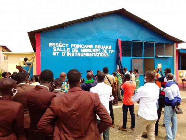 Côte d'Ivoire : Bouaké, pour encourager ses étudiants à la pratique, un établissement se dote de structures