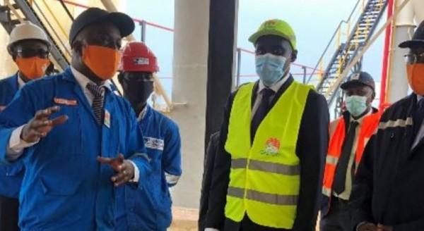 Côte d'Ivoire : Gaz butane, lancement officiel des travaux de construction de la nouvelle sphère A22, capacité de stockage à 6 000 tonnes