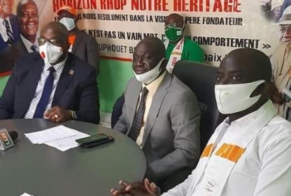Côte d'Ivoire : Election présidentielle d'octobre, un mouvement de soutien met à la disposition des militants du RHDP, 50 mille timbres pour leur enrôlement