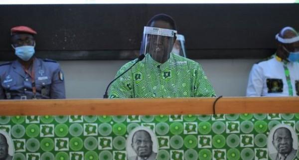 Côte d'Ivoire : La convention du PDCI se tiendra à Yamoussoukro mais reportée à une date ultérieure, Bédié satisfait des travaux
