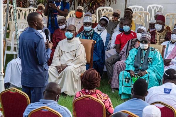 Côte d'Ivoire : Bouaké, pour des élections apaisées en octobre, Amadou Koné engage les guides religieux