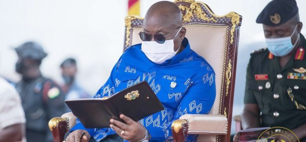 Ghana :  Covid-19, Akufo-Addo en auto-isolement pour 14 jours