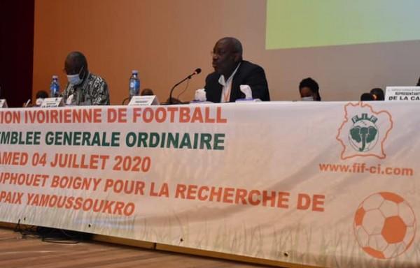 Côte d'Ivoire : FIF, quitus donné à la gestion de Sidy Diallo, René Diby désigné président du comité électoral pour le vote du 5 septembre