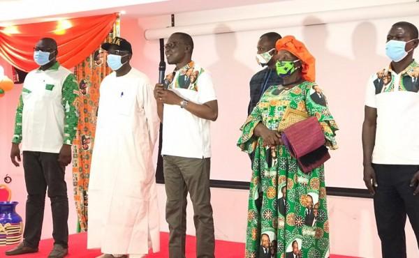 Côte d'Ivoire : Bouaké, depuis le siège du RHDP, Amadou Koné: « nous avons fait un pas important vers la victoire...»