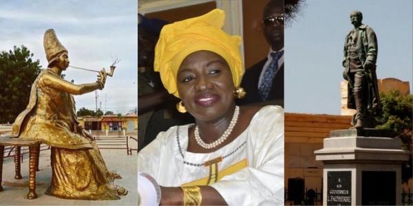 Sénégal : L'ex Premier ministre Aminata Touré pour le déboulonnement de la statue de Faidherbe de Saint Louis