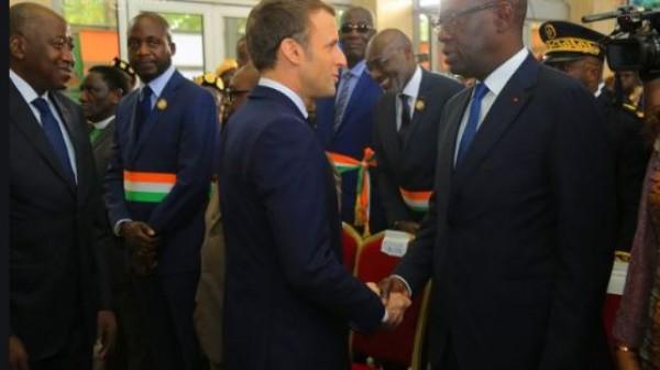 Côte d'Ivoire-France : Emmanuel Macron rend à son tour hommage à feu Amadou Gon, artisan du  redressement économique du pays