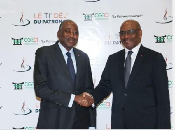 Côte d'Ivoire : Les Patrons des entreprises retiennent de Gon,  un homme du  dialogue constant et efficace public-privé