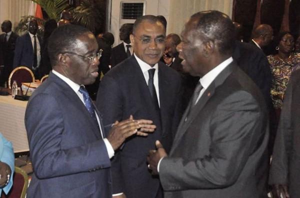 Côte d'Ivoire : Aka Aouélé ne négocie pas son départ du gouvernement réaffirme son engagement au Président Ouattara et au RHDP