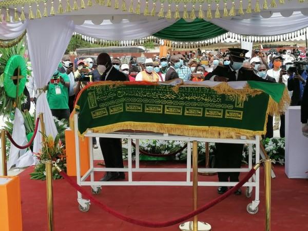Côte d'Ivoire : Korhogo, hommage des populations à Gon, toutes les régions présentent pour présenter leurs condoléances aux parents de l'illustre disparu