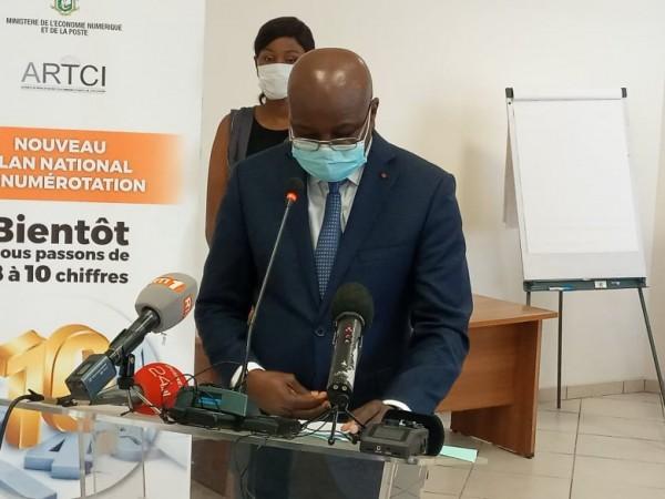 Côte d'Ivoire : Basculement de 8 à 10 chiffres, plus de 50 millions de numéros concernés, les changements automatiques le 31 janvier 2021