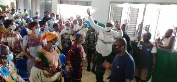 Côte d'Ivoire : Parrainages présidentiels, Evariste Méambly en superstar dans le Guémon reçu chez Hamed Bakayoko dès son retour à Abidjan