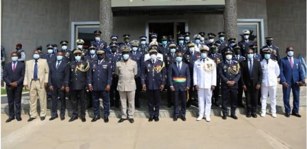 Côte d'Ivoire : Ecole de Guerre, la première promotion reçoit ses Brevets