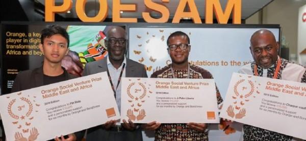 35 Start-ups ivoiriennes en lice pour la 10ème édition du Prix Orange de l'Entrepreneur Soci...