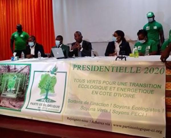 Côte d'Ivoire :  Claude Gohourou annonce sa candidature à l'élection présidentielle au nom du parti écologique