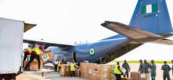 Cedeao :  Covid-19, kits sanitaires convoyés du Nigeria vers 13 pays, dont la RCI et le Togo