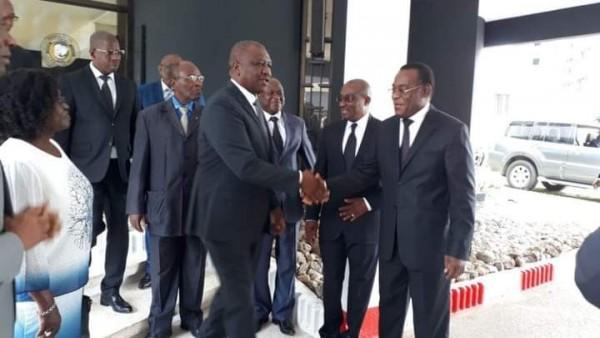 Côte d'Ivoire : Affi, Guikahué et Bictogo reçus ce jour par le Premier ministre Hamed Bakayoko