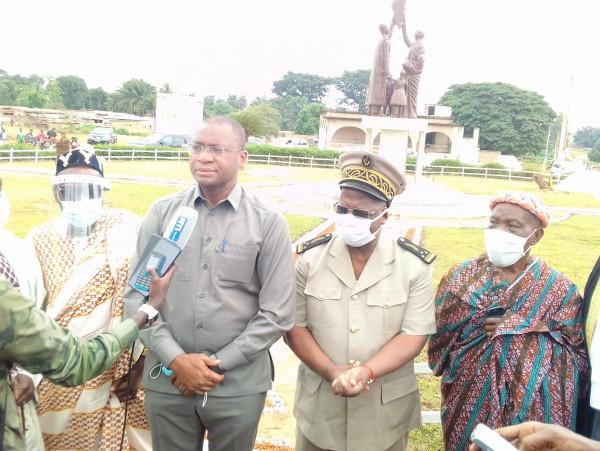 Côte d'Ivoire: Béoumi, à la mémoire des victimes du conflit inter-ethnique, une stèle dressée