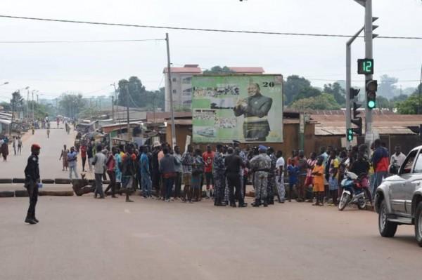 Côte d'Ivoire : Mouvement d'humeur contre la candidature d'Alassane Ouattara, les forces de l'ordre maitrisent la situation à Daoukro