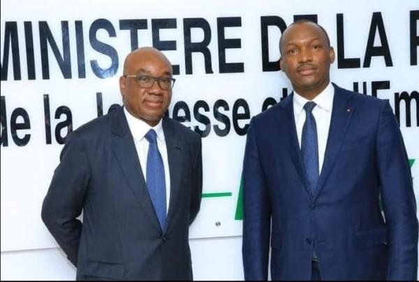 Côte d'Ivoire : En attendant la proclamation officielle de la liste des candidats à la  FIF, Idriss Diallo : « Quand il y a penalty, il y a penalty »