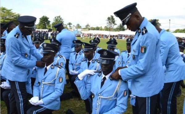 Côte d'Ivoire : Les  Sous-officiers de Police Stagiaires issus de la promotion 2019-2021 convoqués en tenue treillis pour nécessité de service