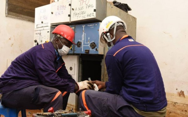 Côte d'Ivoire :  Travaux au poste 225 kV de San Pedro, communiqué de la CIE