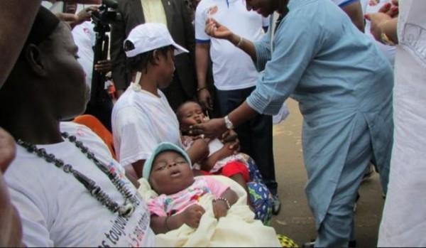 Côte d'Ivoire : 37 cas d'enfants paralysés par la polio enregistrés, une campagne de vaccination prévue du 18 au 21 septembre prochain sur toute l'étendue du territoire national