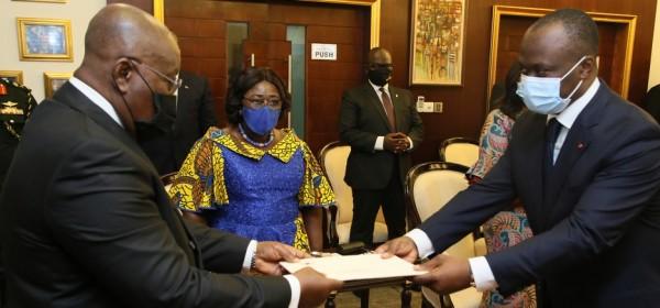 Ghana-Côte d'Ivoire : Mission du nouvel ambassadeur ivoirien Tiemoko Moriko à Accra