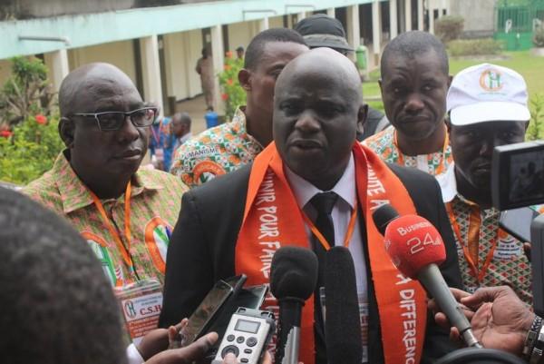 Côte d'Ivoire :    Réélu SG de la Centrale syndicale humanisme pour un mandat de 10 ans, Mamadou Soro appelle à une élection présidentielle apaisée pour garantir la stabilité et les emplois