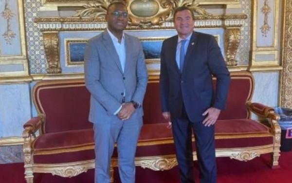 Côte d'Ivoire-France : Après des échanges avec le Sénateur, Damien Regnard, Sidi Touré  se réjouit de sa convergence avec les actions du Gouvernement