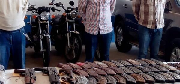 Togo :  Trois fugitifs braqueurs aux arrêts, armes et munitions saisies