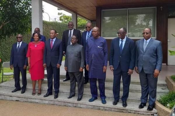 Côte d'Ivoire : Affi et Mabri chez Bédié, pour lé président du FPI « il faut passer aux actes» de la désobéissance civile