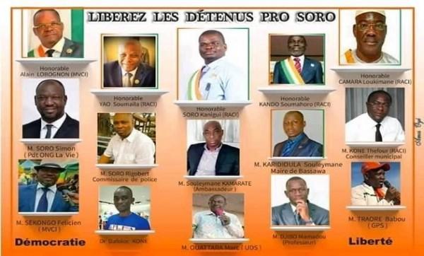 Côte d'Ivoire : Les 15 détenus pro-Soro libérés et placés sous contrôle judiciaire
