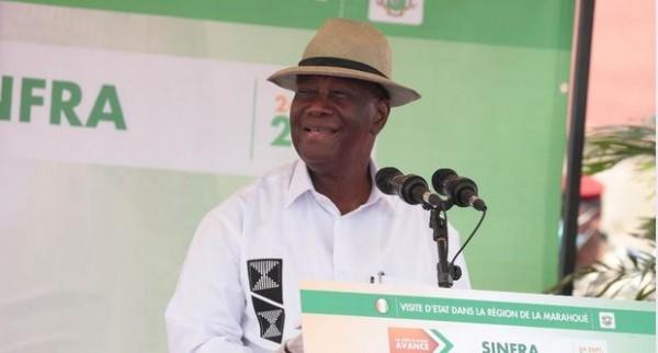 Côte d'Ivoire : Sinfra, Ouattara rend hommage à Bi Ballo et se dit au travail pour tous les ivoiriens sans exception pendant que l'opposition parle de désobéissance civile