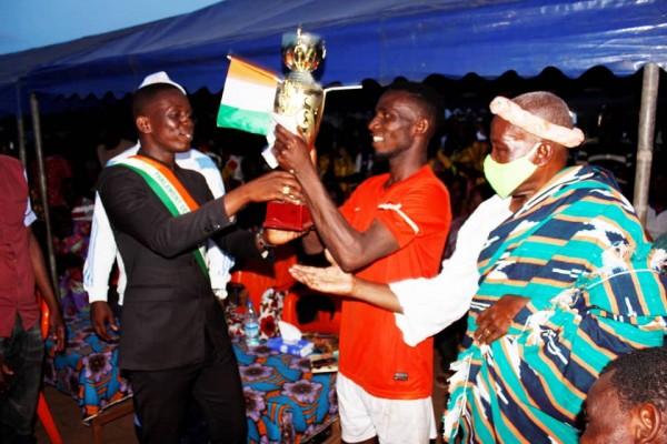 Côte d'Ivoire : Béoumi, pour pacifier l'environnement pré électoral, le football utilisé par le PJCI