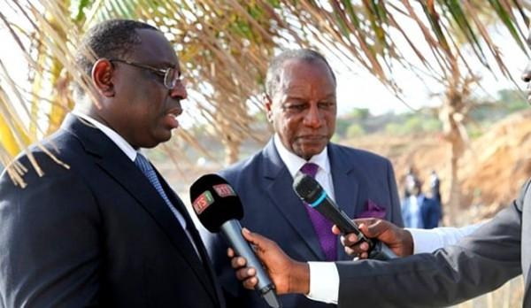 Guinée: En pleine campagne, la Guinée ferme ses  frontières avec le Sénégal et la Guinée Bissau