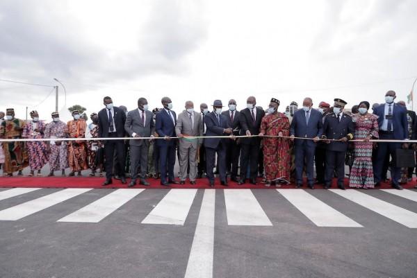 Côte d'Ivoire : Alassane Ouattara inaugure la Voirie réhabilitée de Yamoussoukro