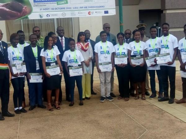 Côte d'Ivoire:    Déforestation, des étudiants conçoivent un système de protection intégré à l'aide d'une application mobile de surveillance des aires protégées