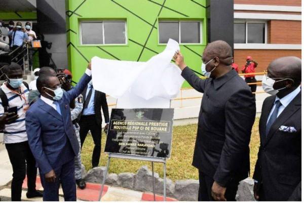 Côte d'Ivoire : Accessibilité des médicaments, Bouaké a désormais  sa Nouvelle Pharmacie de la Santé Publique