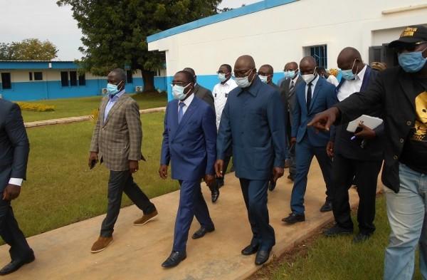 Côte d'Ivoire : Korhogo, le Centre Hospitalier régional rénové livré au Directeur, 17 bâtiments dotés d'équipements de pointes et de dernières technologies logiques