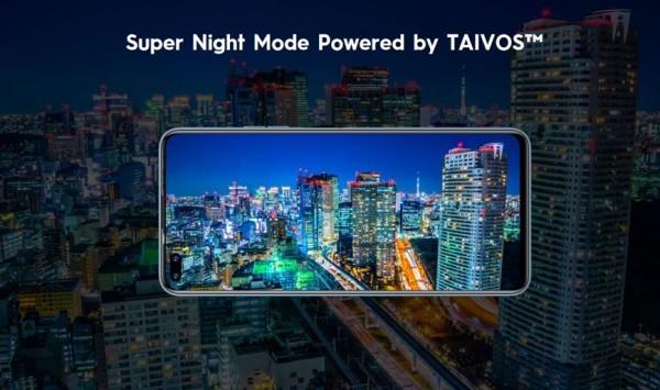 TAIVOS Lab offre au CAMON 16 Premier une expérience de prise de vue nocturne sans précédent