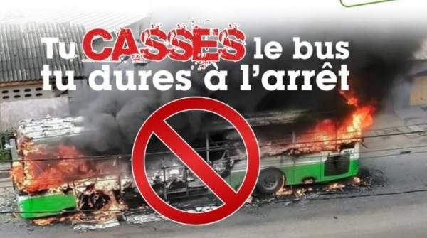 Côte d'Ivoire : Actes de vandalismes contre les autobus, un  préjudice qui s'élèverait à    plus de deux milliards FCFA pour la Sotra