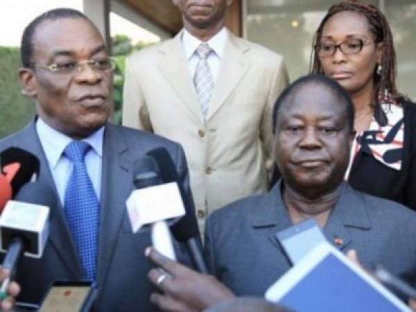 Côte d'Ivoire : Communiqué des candidats Affi et Bédié suite à la déclaration du gouvernemen...