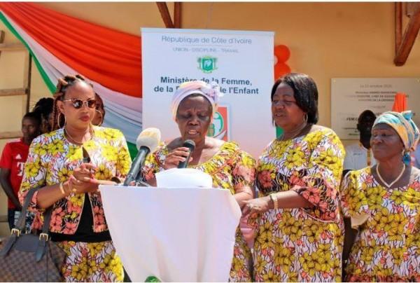 Côte d'Ivoire : Ouverture de la  première usine des femmes à Abengourou