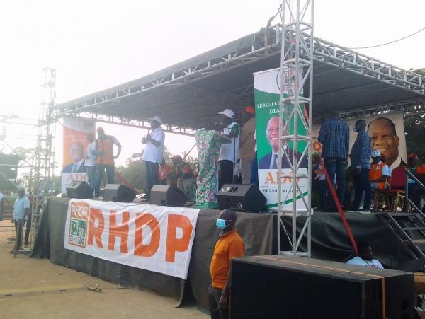 Côte d'Ivoire : Botro, appelant ses milliers de parents à voter Ouattara, Assahoré Jacques : «La politique c'est pas une question d'ethnie...»
