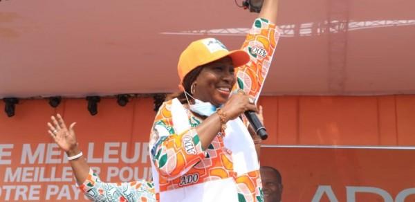 Côte d'Ivoire : Kandia à propos de l'opposition: «comme ils ont échoué avec leur désobéissance civile, maintenant ils disent que le samedi, il n'y aura pas d'élection»