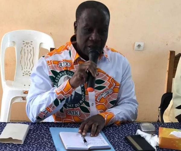 Côte d'Ivoire : Depuis Ouragahio, Abel Djohoré répond à  Gbagbo  « Il n'y aura pas de catastrophes, la côte d'ivoire ne brûlera pas. »