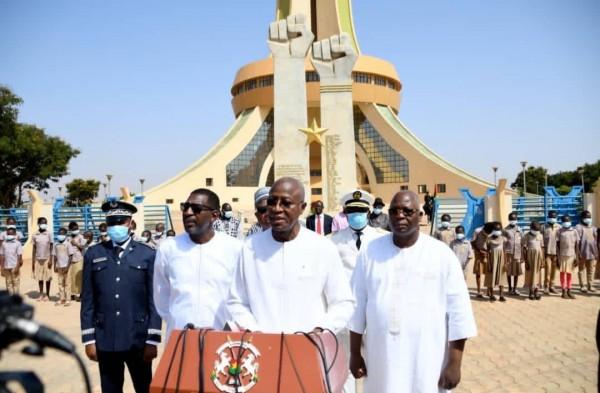 Burkina Faso : Un hommage aux martyrs à l'occasion de l'an 6 de l'insurrection populaire
